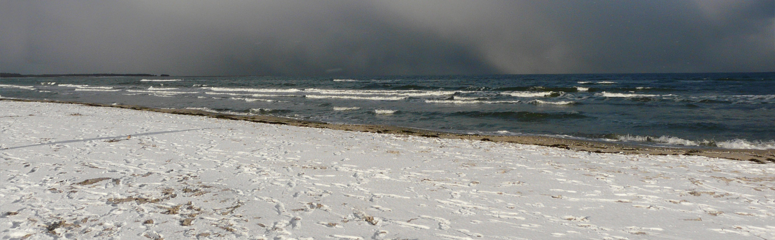 Winterstrand von Prerow